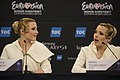 The Tolmachevy Sisters, ESC2014 Meet & Greet 19.jpg