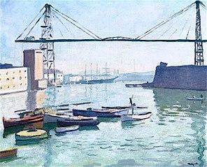 The Transporter Bridge in Marseille