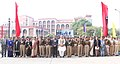 The Union Home Minister, Shri Rajnath Singh in a group photograph at the 7th National Conference on Women in Police, at CRPF Academy, in Kadarpur, Gurgaon on January 06, 2016.jpg