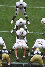 The University of Texas college football team in the I formation.JPG