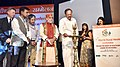 "The Vice President, Shri M. Venkaiah Naidu lighting the lamp to inaugurate the 15th World Rural Health Conference with the theme ""Healing the Heart of Healthcare - Leaving no one behind"", in New Delhi.JPG"