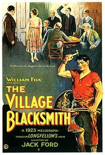 <i>The Village Blacksmith</i> (1922 film) 1922 film