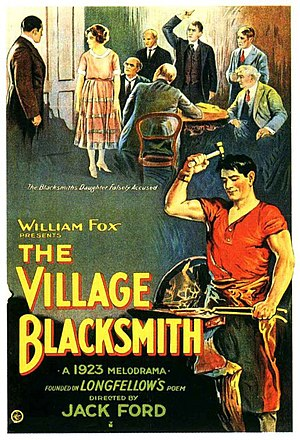 The Village Blacksmith (film) - Film poster