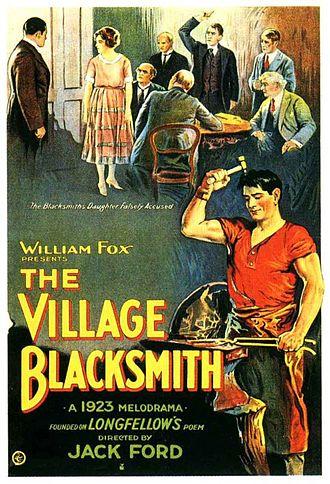 The Village Blacksmith (film) - Film poster
