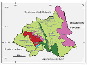 El Sira Communal Reserve - El Sira Communal Reserve (in pink)