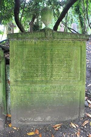 William Bodkin (judge) - The grave of William Bodkin, Highgate Cemetery, London