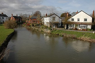 River Arrow, Wales - The River Arrow in Eardisland