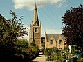 The tower of St. Mary's church as seen from Silver Street - geograph.org.uk - 506421.jpg