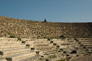 Image:Theater of Salamis, Cyprus