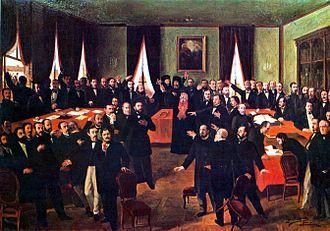 United Principalities - Proclamation of the Moldo-Wallachian union
