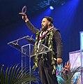 Thomas Iannucci winning a Nā Hōkū Award for Best Rap Album.jpg