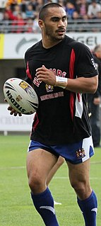 Thomas Leuluai New Zealand international rugby league footballer