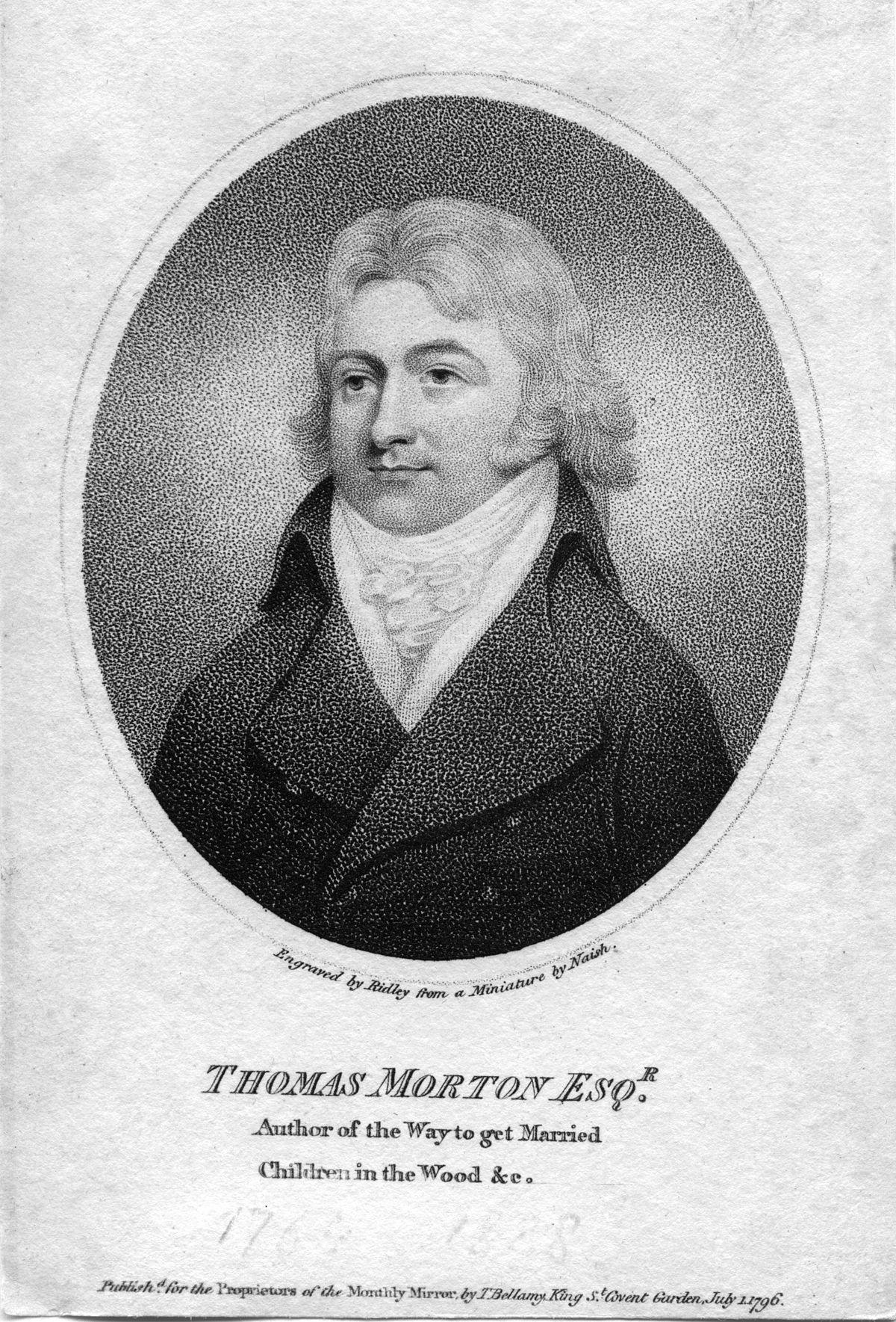 Style Anglais : Thomas morton — wikipédia