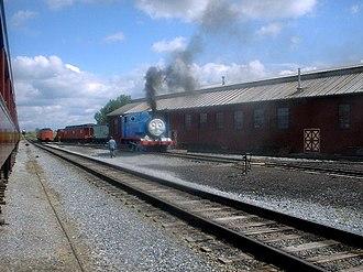 Strasburg Rail Road - Thomas the Tank Engine in the Yards of the Strasburg Rail Road. (2001)