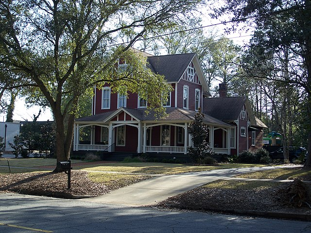 Thomasville (GA) United States  city photo : ... in the United States of America . Its reference number is 84001251
