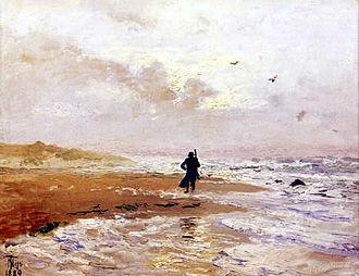 Thorvald Niss - Image: Thorvald Niss Skagen Strand