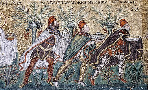 Three Magi mosaic - Sant'Apollinare Nuovo - Ravenna 2016
