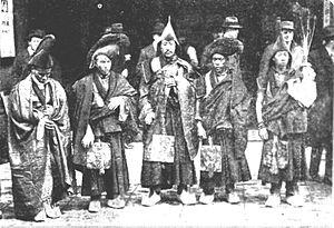"""Affair of the Dancing Lamas - The Tibetan """"lamas"""" in London, December 1924"""