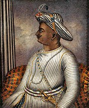 Tipu Sultan (1782 – 1799), took Mysore to the height of its military power