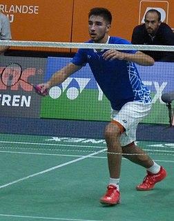 Toma Junior Popov Badminton player