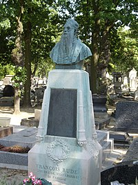 Tombe François Rude, Cimetière du Montparnasse.jpg