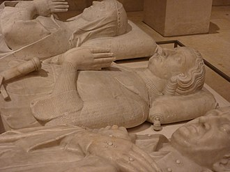 Gaucher V de Châtillon - Gaucher de Châtillon tomb at the Louvre