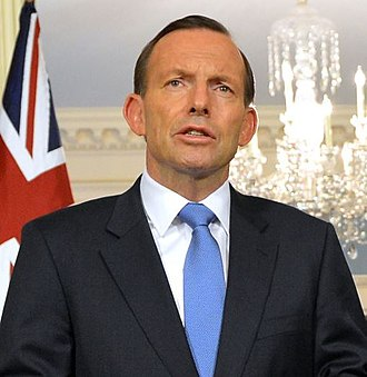 2014 G20 Brisbane summit - Image: Tony Abbott June 2014 Crop