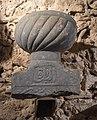 Top of an Ottoman tomb 1, Karababa castle, Chalkida, Greece.jpg