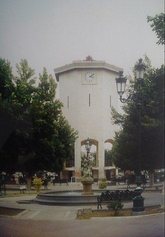 Torreón - The main tower of the central plaza of Torreón