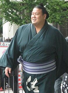 Tosanoumi Toshio Japanese sumo wrestler