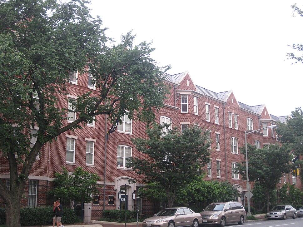 Townhouse Row GWU