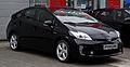 Toyota Prius Life (III, Facelift) – Frontansicht, 11. Februar 2013, Düsseldorf.jpg