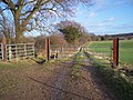 Track and Bridleway junction - geograph.org.uk - 1670558.jpg