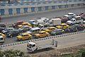Traffic Jam - Eastern Metropolitan Bypass - Science City Area - Kolkata 2015-12-31 8344.JPG