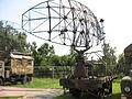 Trailer-mouted radar at the Muzeum Polskiej Techniki Wojskowej in Warsaw.JPG