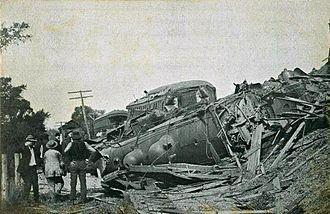 Canaan, New Hampshire - 1907 Canaan train wreck