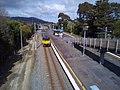 Train at Wingate railway station 2021.jpg