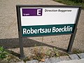 TramStrasbourg lineE Boecklin panneau.JPG