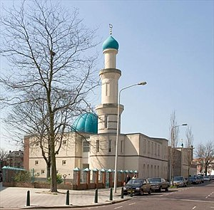 Islam in the Netherlands - A Mosque in The Hague.