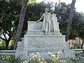 Trastevere - monumento a Belli e fontane P1000922.JPG