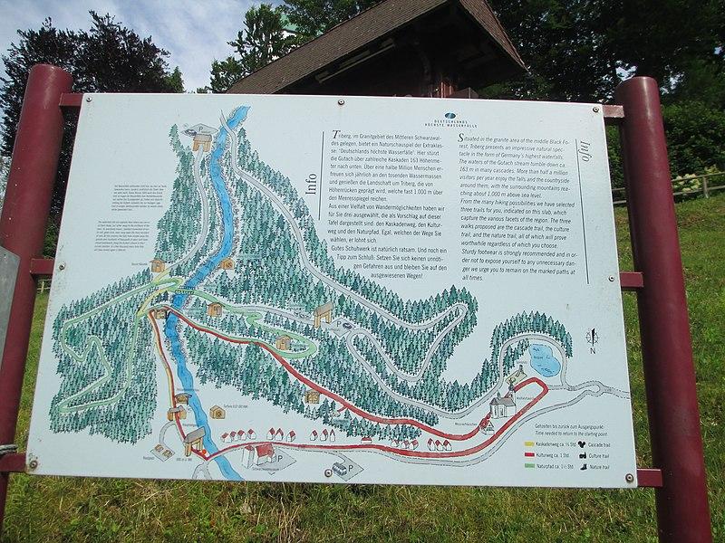 File:Triberg Waterfalls map.JPG