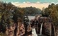 Triphammer Falls 1910s postcard.jpg