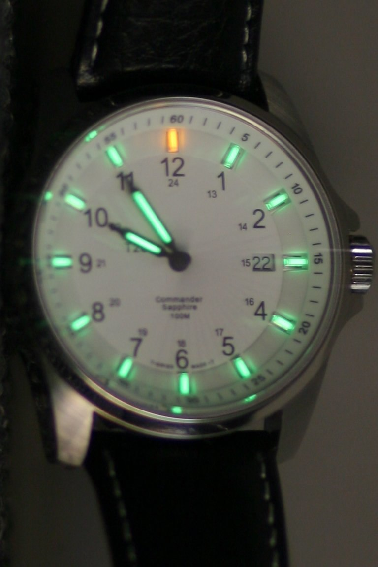 Tritium-watch