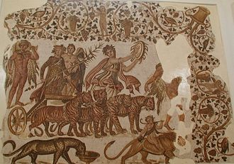 Tunisian wine - Image: Triumph of Bacchus Sousse