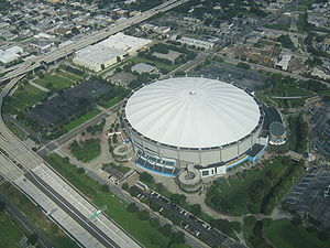 Tropicana Field - Tropicana Field from the air