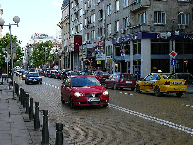Tsar Osvoboditel Boulevard
