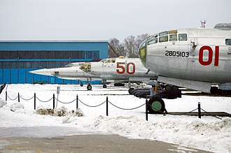 Tupolev - Tu-4, Tu-16 and Tu-22: Three generations of Tupolev bombers at Central Air Force Museum