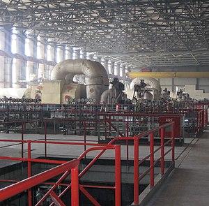 Muzaffargarh District - A turbine at the Muzaffargarh Thermal Power Station