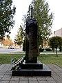 Turiysk Volynska-memorial sign to fighters for freedom of Ukraine-view-3.jpg