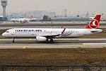 Turkish Airlines, TC-JTP, Airbus A321-231 (25083826687).jpg